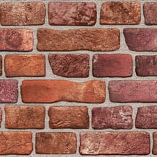 Red Brick PVC falpanel