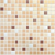 Mosaic Brown PVC falpanel